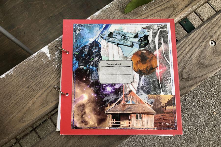 Freundebuch Weltall