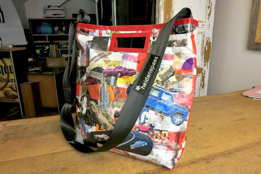 Collage-Shopper Car